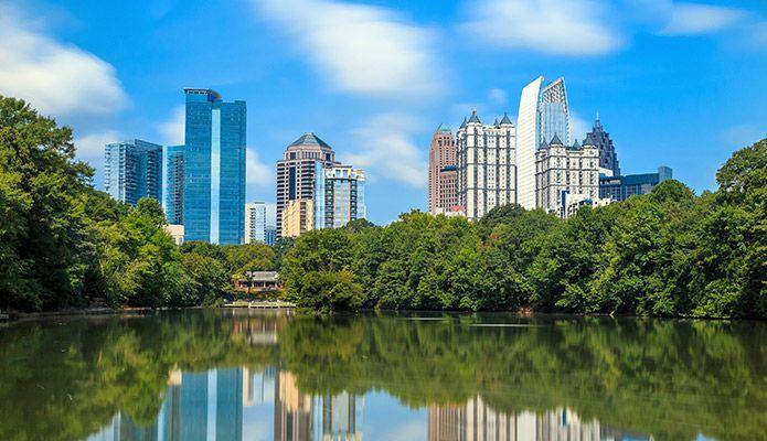 Atlanta Metro and Midtown area.